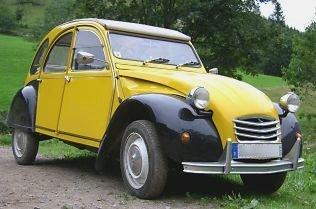 Eine Ente - Citroën 2 CV