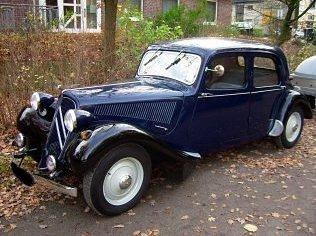 Ein Citroën Traction Avant